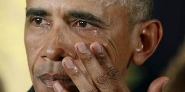 Presiden Amerika Serikat berlinang air mata, saat menyampaikan pidato terakhirnya sebagai presiden