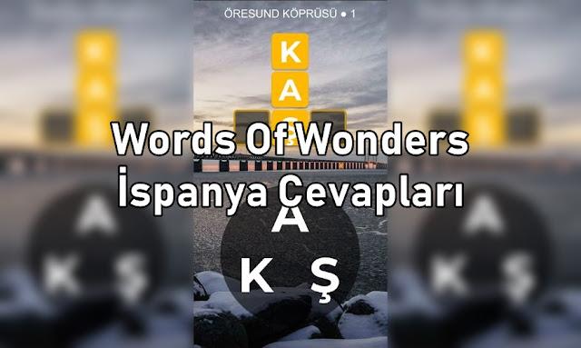 Word Of Wonders İspanya Cevaplari