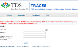 TRACES_Website_Login