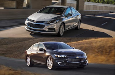 Chevy Sedan Comparison