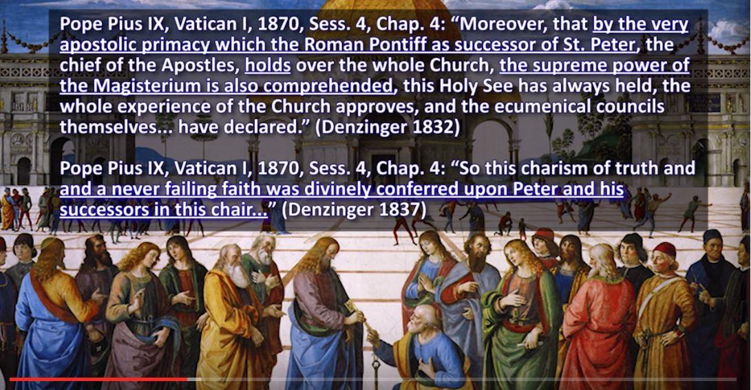 Holy Roman Catholic Church Vs Vatican Council II: April 2017