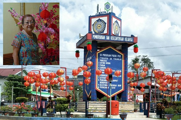 MAMA SUMINI : AJak Warga Tionghoa Sekadau Rayakan Imlek Sederhana dan Tertib