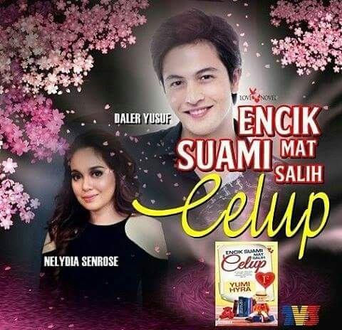 Sinopsis Drama Encik Suami Mat Salih Celup Lakonan Neyldia Senrose dan Daler Yusof