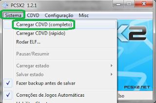 8 Configurando emulador de playstation 2, Pcsx2, emulador de ps2
