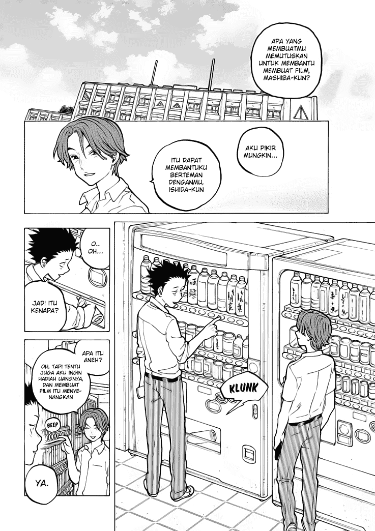 Koe no Katachi Chapter 37-9