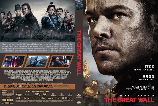 Capa DVD The Great Wall