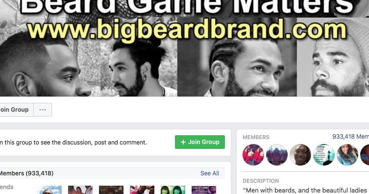 beard game matters gang facebook group mike mcmillan. Black Bedroom Furniture Sets. Home Design Ideas