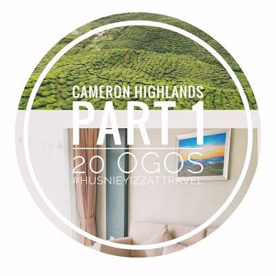 Dari Kuala Terengganu Ke Cameron Highlands | Steamboat Best di Cameron Highlands