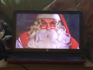 Father Christmas visited