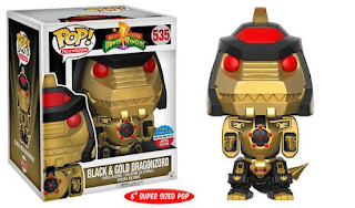 "Pop! TV: Power Rangers – 6"" Black Dragonzord"