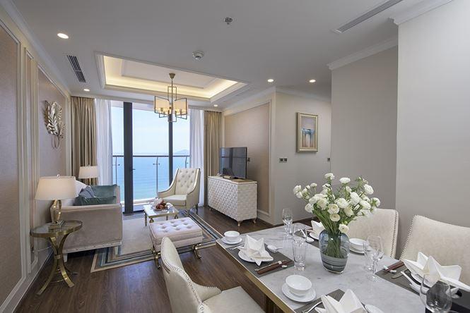 Các căn hộ với tầm view hướng biển tuyệt đẹp