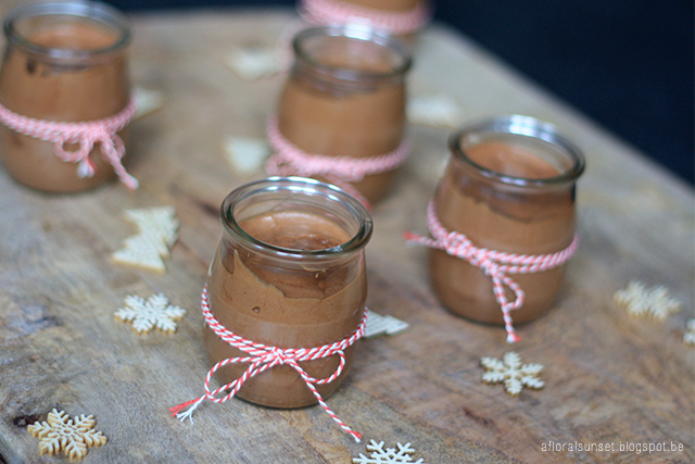 chocomousse met amaretto