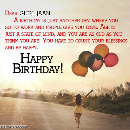 Happy Birthday Meri Guri Jaan