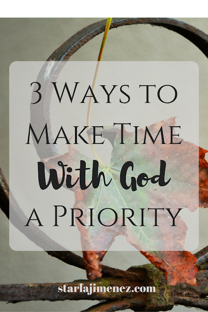 Making Time with God a Priority