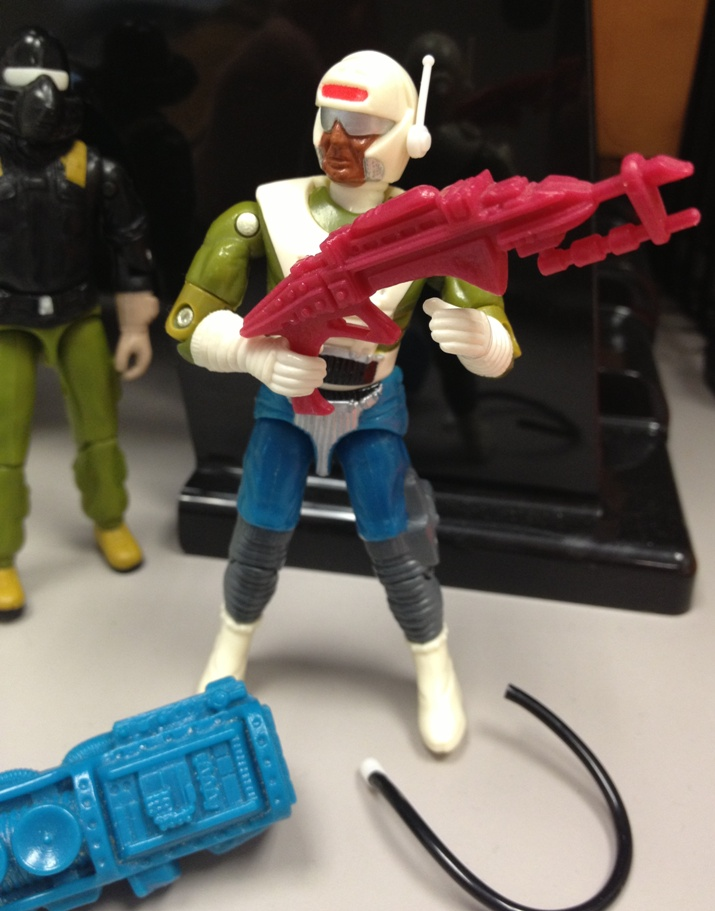 1989 Dee Jay, Battleforce 2000, 2004 Comic Pack Snake eyes