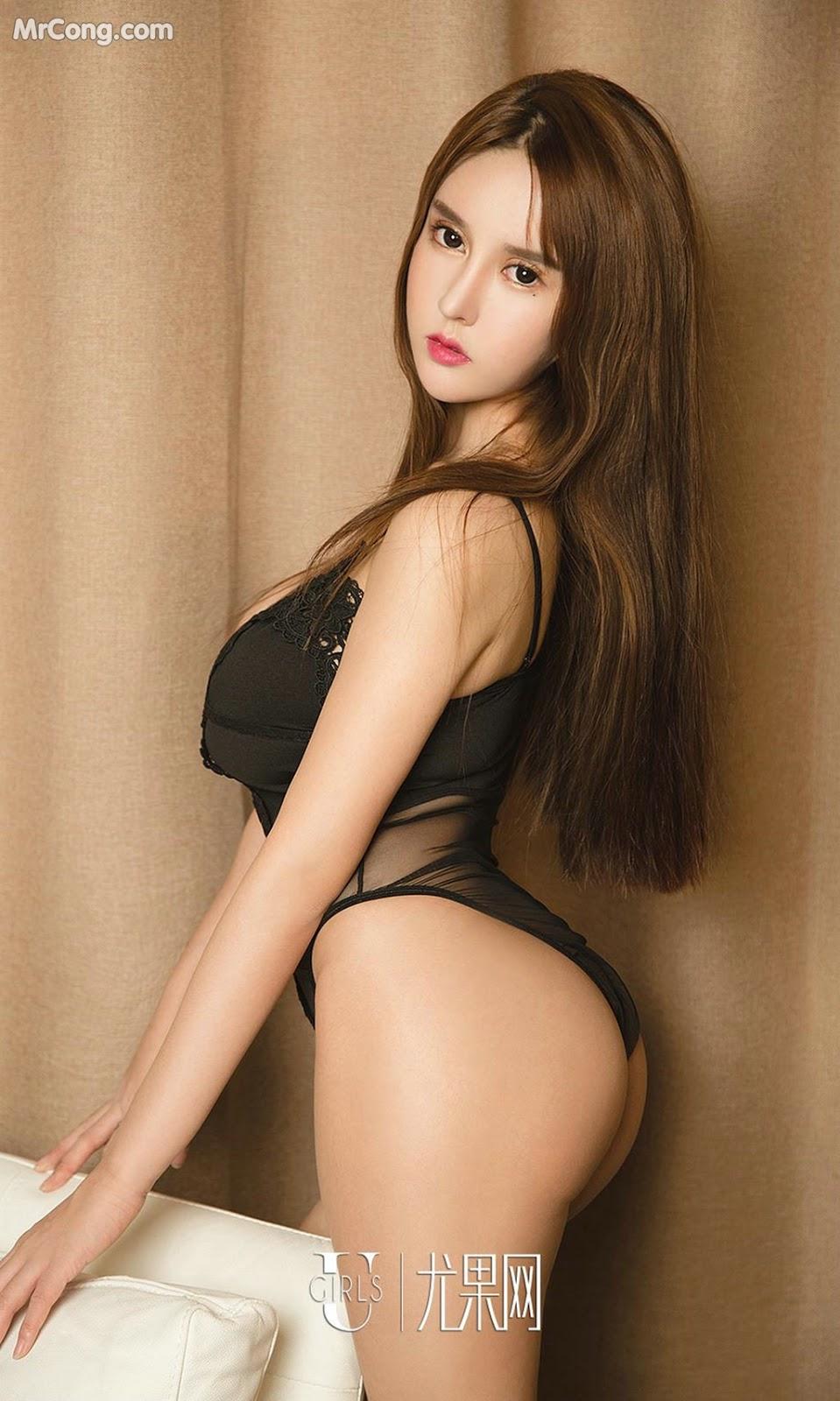 Image UGIRLS-Ai-You-Wu-App-No.1327-Bai-Yi-Han-MrCong.com-024 in post UGIRLS – Ai You Wu App No.1327: Người mẫu Bai Yi Han (白一晗) (35 ảnh)