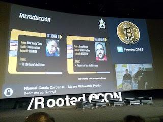 RootedCon 2019 - Manuel García y Álvaro Villaverde - Beam me up, Scotty!