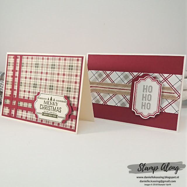 Stampin' Up! Festive Farmhouse DSP - YCCI