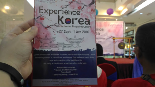 LAUNCHING OF KOREAN FAIR 2016 - HARTAMAS SHOPPING CENTRE