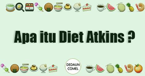 diet atkins, apa itu diet atkins