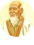 A photography of Lao Tzu