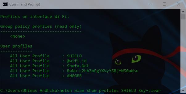 Cara Mudah Mengetahui Password Wifi Dengan CMD, 100% Work!
