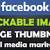 How to create clickable image in facebook in hindi