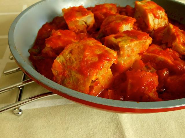 Salsa de tomate para tortilla de patatas