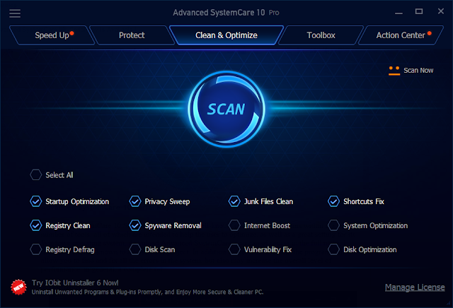 Advanced SystemCare 10,Serial Key,Crack,License code,Pro
