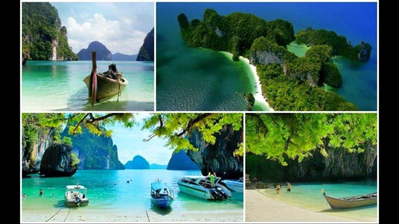 1 villa piscine et 4 autres bord de mer louer ao nang for Piscine a debordement thailande
