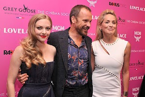 Sharon Stone, Amanda Seyfried and Peter Sarsgaard at the premiere of 'Lovelace'
