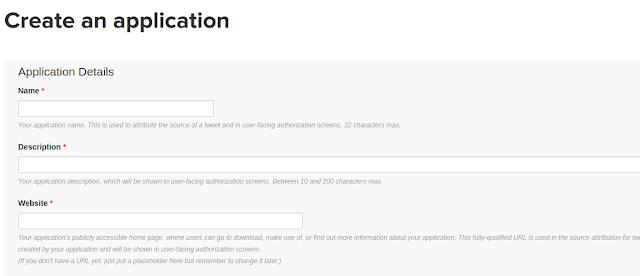 Tutorial Generate Twitter API Key Dengan Mudah