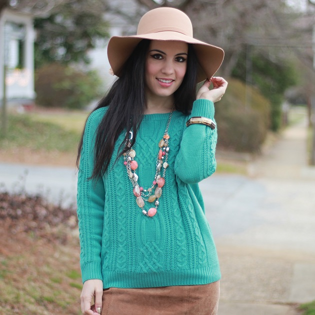 SheIn Blue Sweater