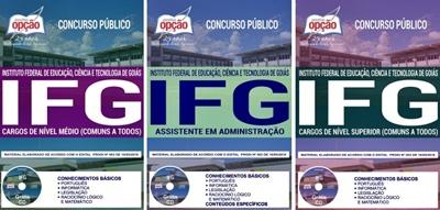 Apostila Concurso IFG 201