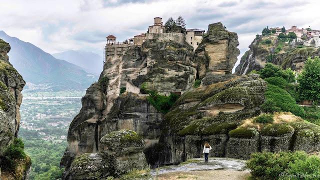 Les monastères perchés des Météores - Grèce