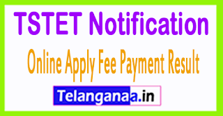 Telangana TS TET 2017 Notification Fee Payment Admit Card Results
