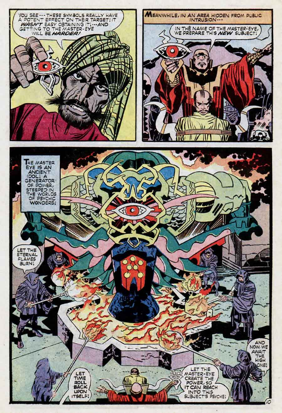 Demon v1 #3 dc bronze age comic book page art by Jack Kirby