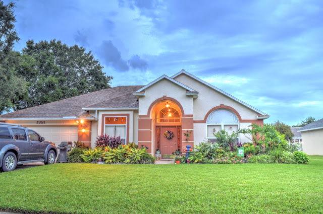HDR House Exterior Twilight