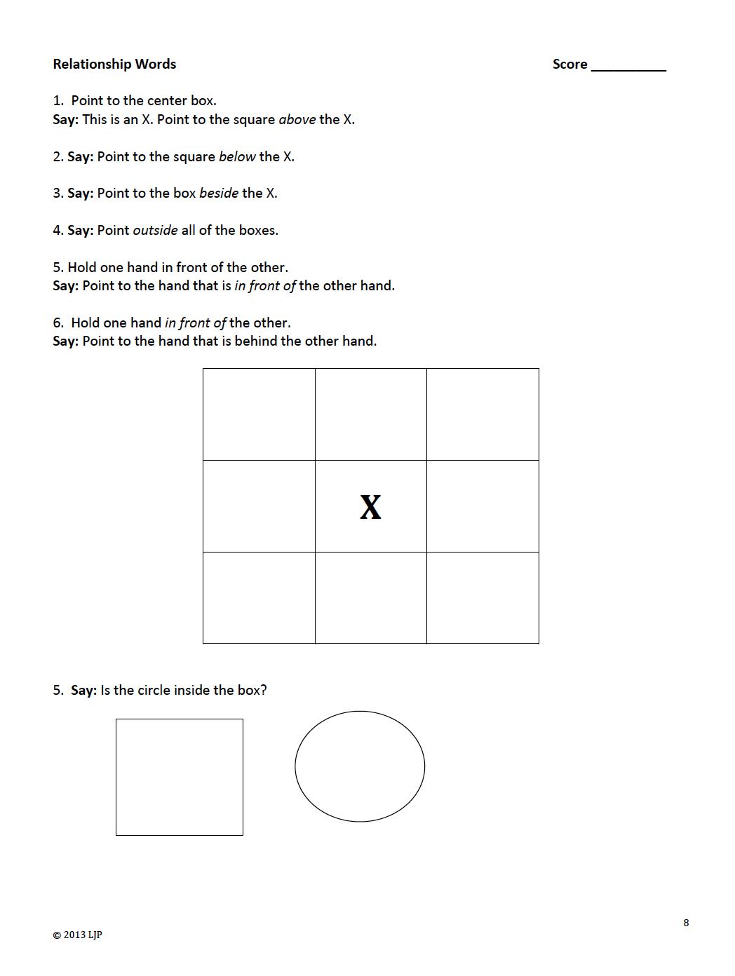 The Best Of Teacher Entrepreneurs Kindergarten Readiness Test