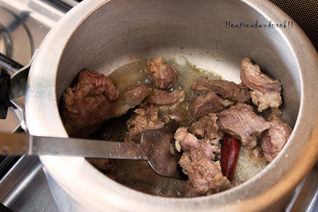 easy and simple Chanay ki Daal Gosht recipe with step by step pictures