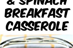 Low Carb Bacon Egg and Spinach Breakfast Casserole Recipe
