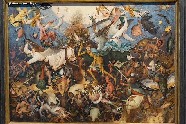 Pieter Bruegel, La Caída de los Ángeles Rebeldes - Museos Reales de Bellas Artes, Bruselas por El Guisante Verde Project