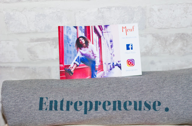 meuf - paris - entrepreneuse - sweat