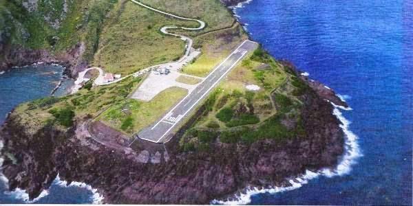Bandara Saba, Karibia