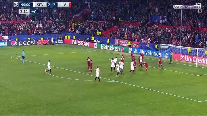 ملخص واهداف مباراة اشبيلية وليفربول 3 - 3  الثلاثاء 21-11-2017 دوري أبطال أوروبا