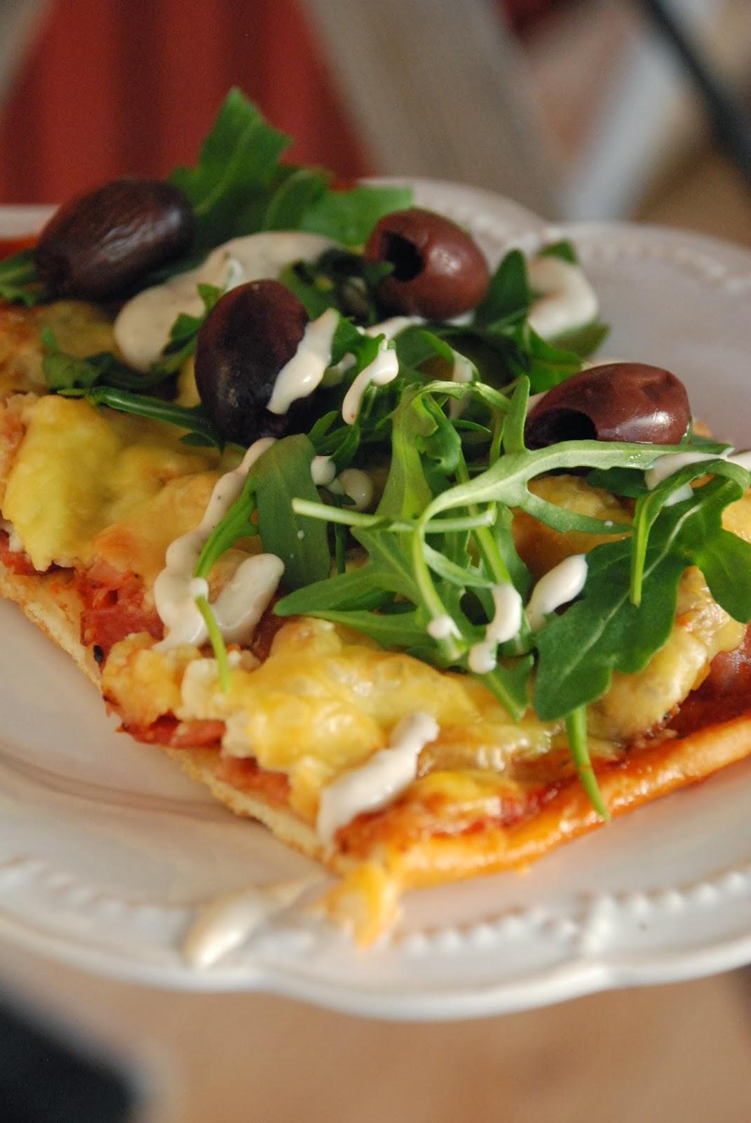 pizzadeg utan jäst en pizza