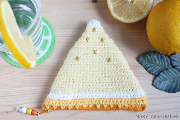 Portamonete giallo limone