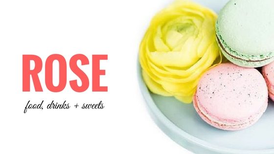 Coming Up Roses. Items that are created using roses. DIY scrubs, water, beauty items, household, food, and sweets.