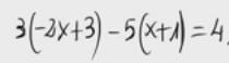 16. Ecuación de primer grado