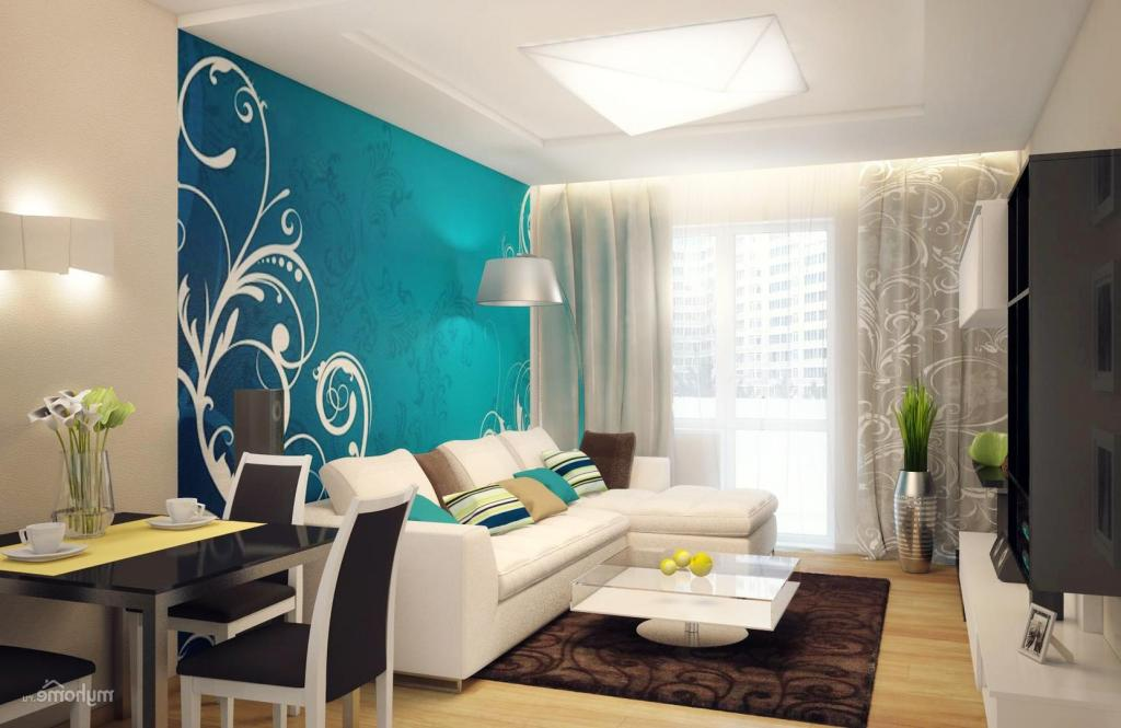 Bricolage e decora o decorar salas pequenas em azul for Pintura para salas pequenas